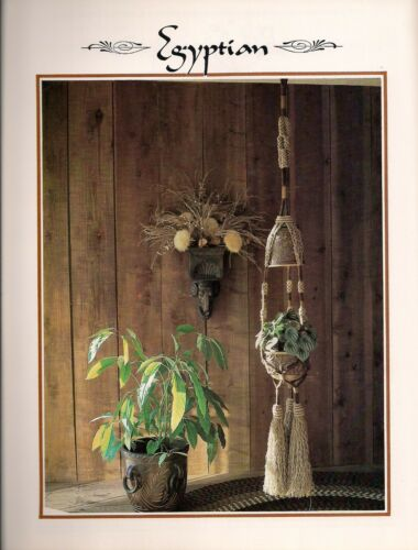 Macrame Large Hanging Wall Decor BOOK ONLY # Z07 Juliano/'s Hang It All Book 3