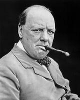 11x14 Portrait Photo: Winston Churchill, Prime Minister Of United Kingdom
