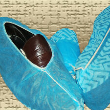 200 Disposable Shoe Covers non-skid /  LARGE (to Men's Size 10) or for WOMEN