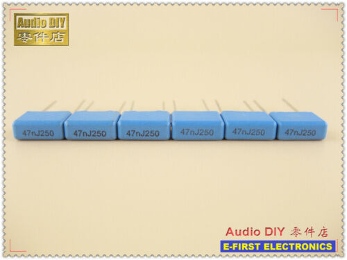 47nF 473 20pcs//200pcs RIFA PHE426 Series 0.047uF//250V 5/% MKP Film Capacitor