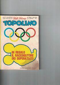 1976 05 23 - TOPOLINO - WALT DISNEY - N.1069 - 23 MAGGIO 1976 - Italia - 1976 05 23 - TOPOLINO - WALT DISNEY - N.1069 - 23 MAGGIO 1976 - Italia