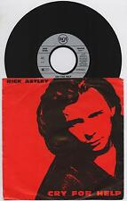 """RICK ASTLEY - CRY FOR HELP / BEHIND THE SMILE 45 giri 7"""" RCA PB44247 1991 GER"""