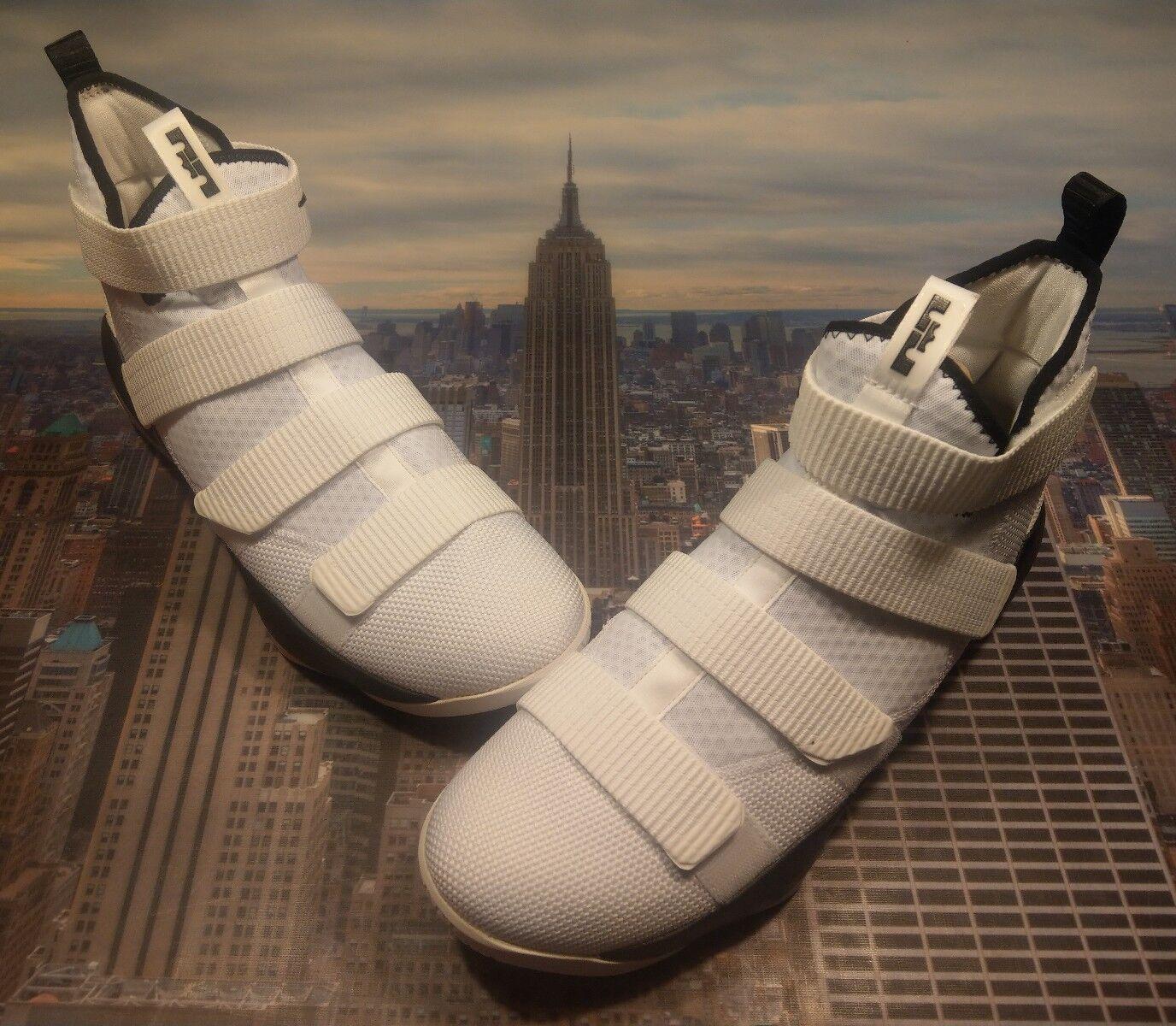 Nike lebron soldat xi 11 tb promo  / / / silber schwarz 14 943155 106 neuen 3ddbf2