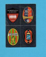 PANINI CALCIATORI 2008-2009-Figurina n.657-SORRENTO+TARANTO..-SCUDETTO-NEW