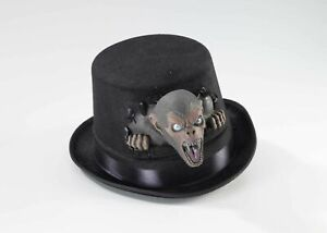 Black-Twisted-Attraction-Monkey-Circus-Clown-Top-Hat-Adult-Costume-Accessory