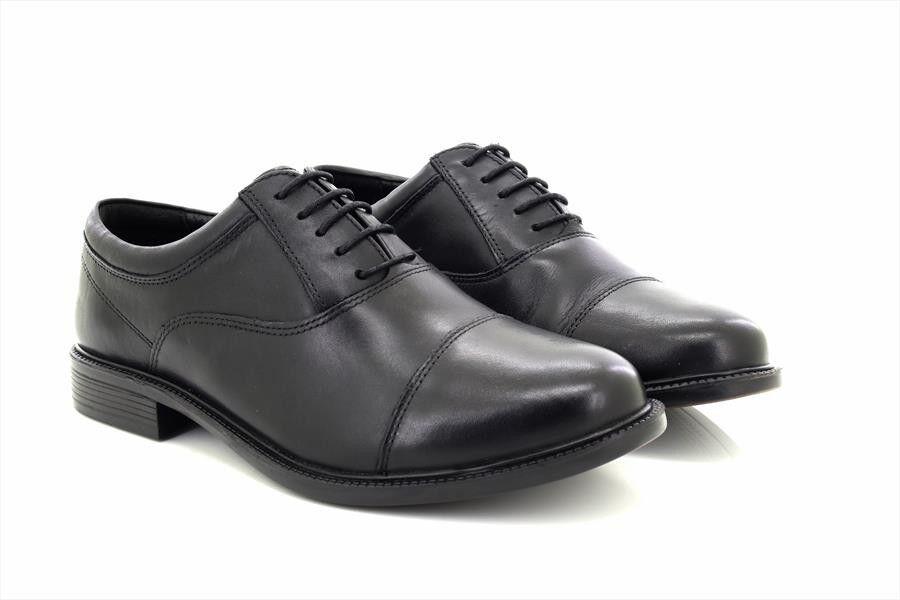 Uomo Roamers M286A Nero Morbida pelle più Completa Vestibilità Capped Oxford | Vinto altamente stimato e ampiamente fidato in patria e all'estero  | Scolaro/Ragazze Scarpa