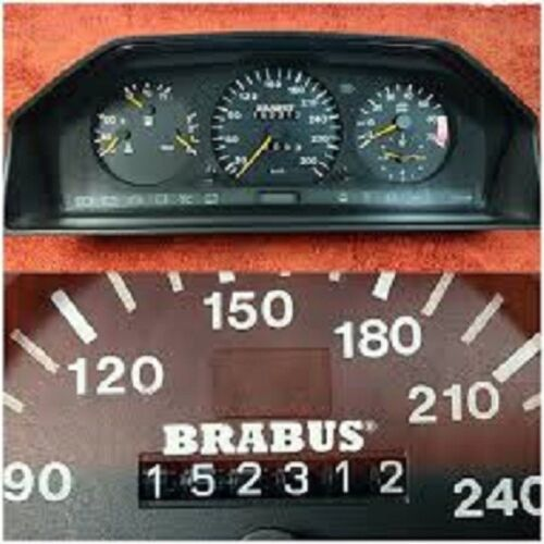 Mercedes Benz BRABUS sticker tacho W123 W124 W126 All Mercedes Oldtimer sticker