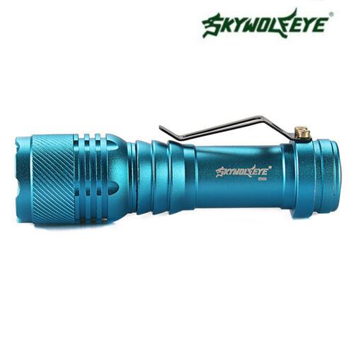 15000LM T6 LED Light Flashlight Zoomble AA //14500 Mini Torch Lamp Bike Mount#*