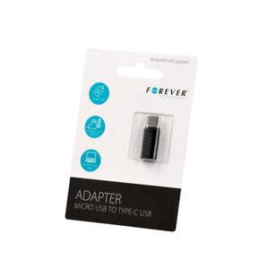 USB-C-Typ-C-zu-Micro-USB-Adapter-Stecker-Buchse-fuer-BlackBerry-Motion