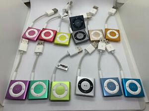Apple iPod Shuffle 4. génération 2 Go-Diverses Couleurs Disponibles-Bon état