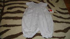 NWT NEW PETIT AMI 6M 6 MONTHS SMOCKED FLORAL OUTFIT
