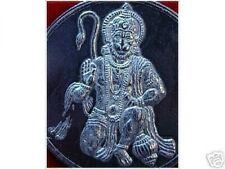 1721 Hindu Lord Hanuman Singe OM Sterling Silver Charm Pendentif Bijoux