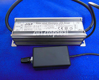 Dimmable Waterproof 50W High Power LED Driver DC30-36V 1500mA with Dimmer