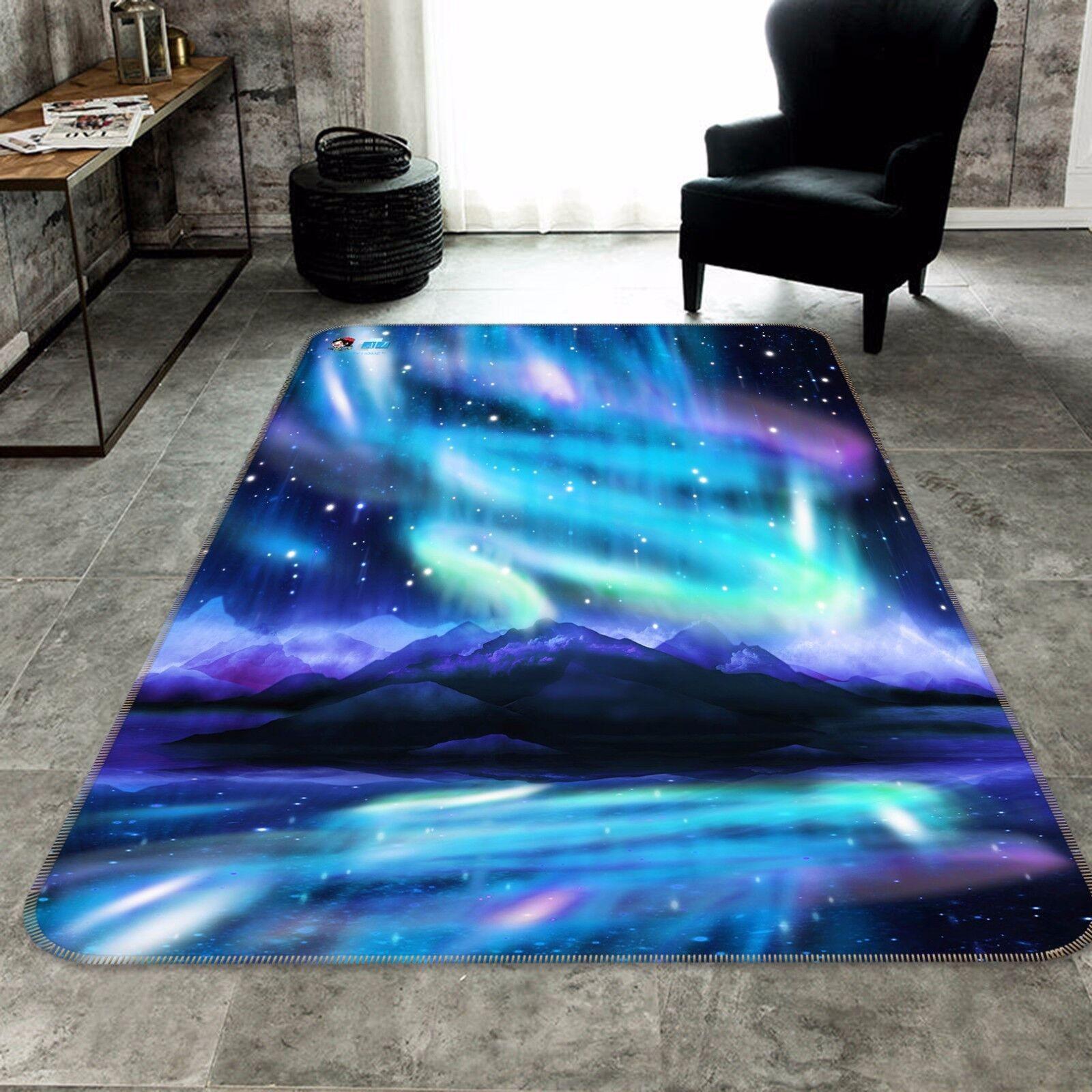 3D Bule Stars 454 Slip Slip Slip Rug Mat Room Mat Quality Elegant Photo Carpet AU Summer 0e560d
