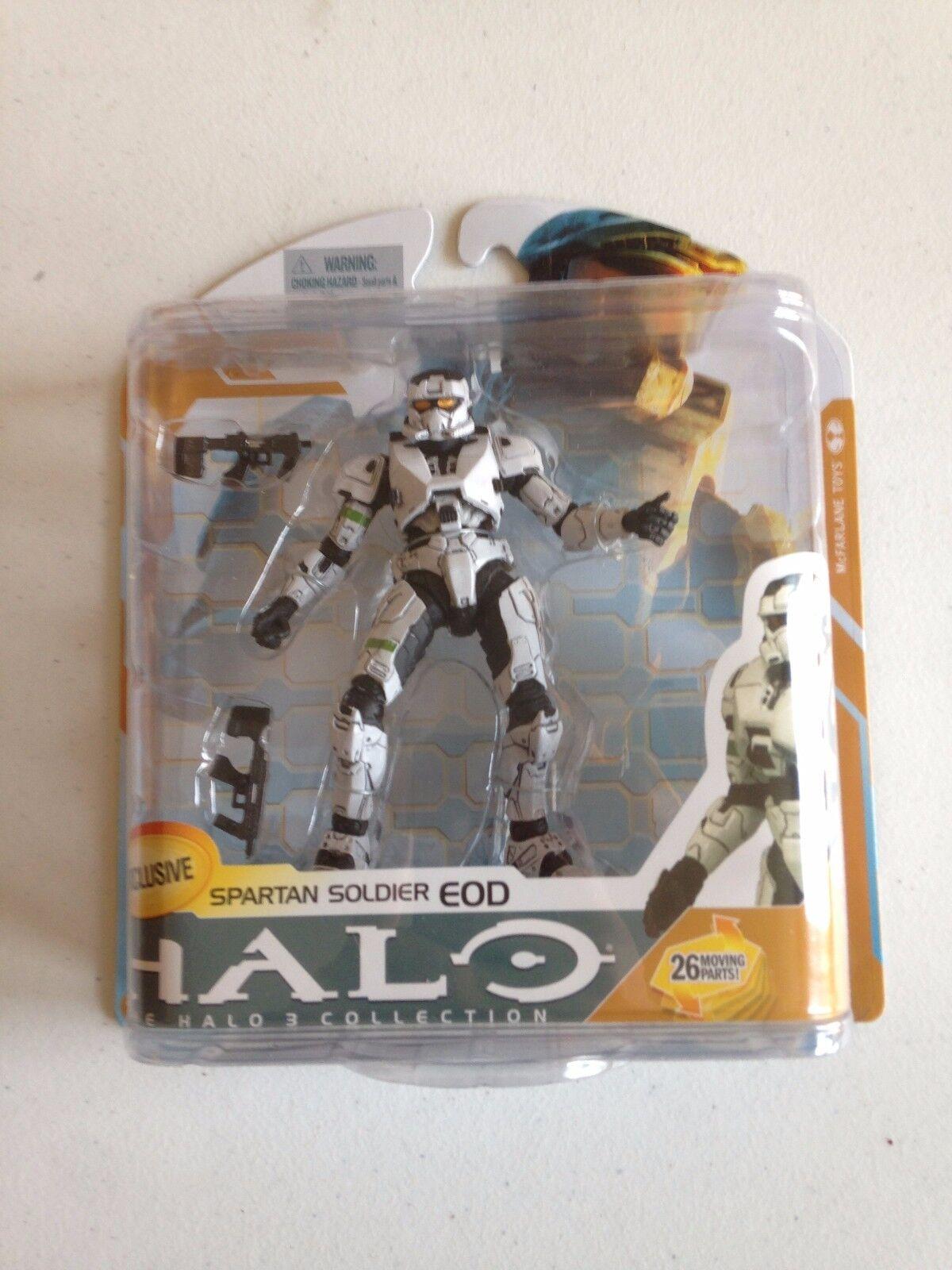 Halo 3 reihe 8 weiße spartanischen soldaten dabei