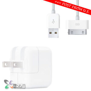 Original-Genuine-Apple-iPad-1st-2nd-3rd-iPad2-iPad3-WALL-CHARGER-USB-Data-Cable