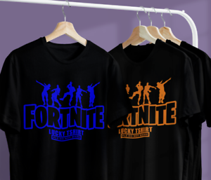 Boys Kids Children Adult Lucky Fortnite Gaming T Shirt Top. Funny Gift Ideas Tee