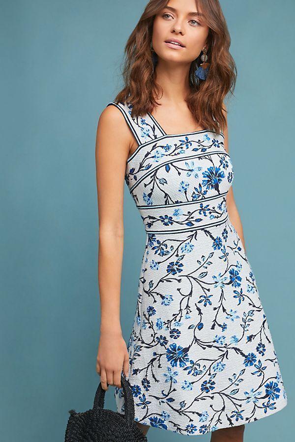 NWT SZ XL Shannon Jacquard Dress By Maeve