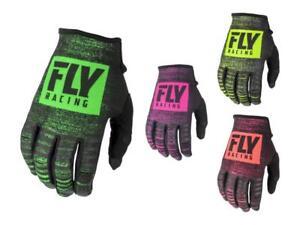 2019-Fly-Racing-Kinetic-Noiz-Adult-Motocross-Gloves-MX-ATV-MTB-Off-Road