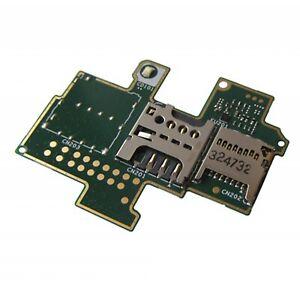 Platte Lectror Sim-Sd Sony Xperia M C1905 Original Neu