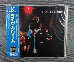 CREAM JAPAN PROMO CD LIVE CREAM sealed !!