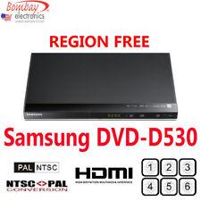Samsung DVD-D530 Multi Region Free DVD Player - 1080p HDMI - PAL-NTSC