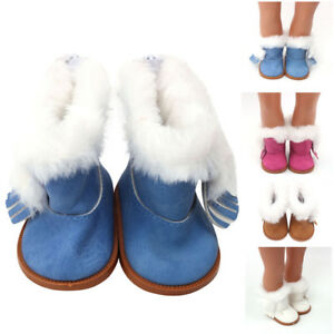 Winter-Glitter-Doll-Shoes-For-18-Inch-American-Girl-Doll-Accessory-Girl-039-s-Toy