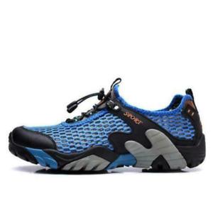 Hommes respirant maille fashion Baskets Randonnée Escalade Chaussures pêche Chaussures Outdoor