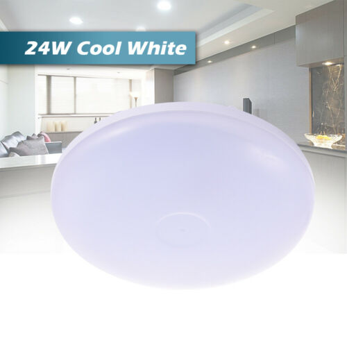 12//18//24//36//48W LED Ceiling Down Light Cool//Warm White Round Panel Lamp Bedroom