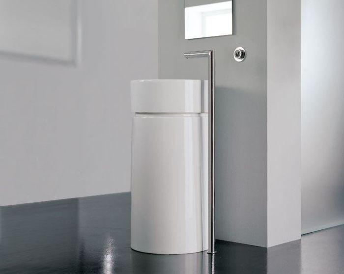 Rubinetto – Getto erogazione lavabo lavabo lavabo a colonna cromato – Zazzeri Z-point 4ae877