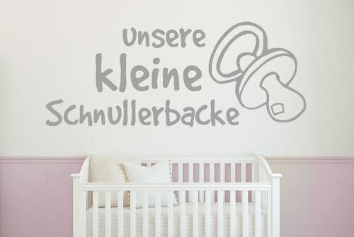 Murale notre petite tétine mâchoire Naissance Chambre enfant bébé mural