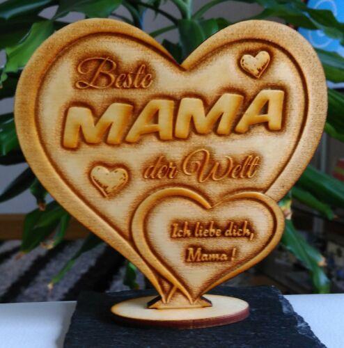 Beste Mama Alles Gute Liebe IHR FOTO+TEXT Muttertag Geburtstag Geschenk Liebe
