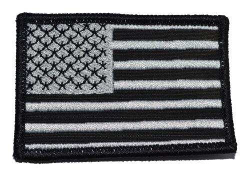 MultiCam BLACK Camo USA Flag 2x3 Patch