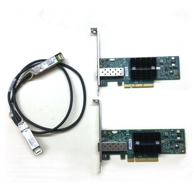 Cable Mellanox ConnectX MNPA19-XTR 10GbE Single-Port Ethernet Network Card