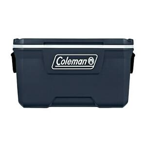 Camping Ice Chest Cooler Coleman 70-Quart Hard Blue Nights Holds up to 100 Cans