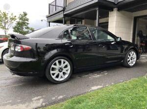 2006 Mazda 6 Sport black