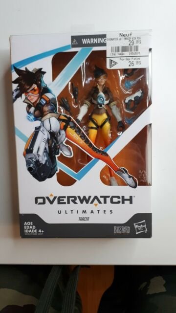 Overwatch Ultimates Tracer 6-Inch Action Figure  Blizzard Hasbro