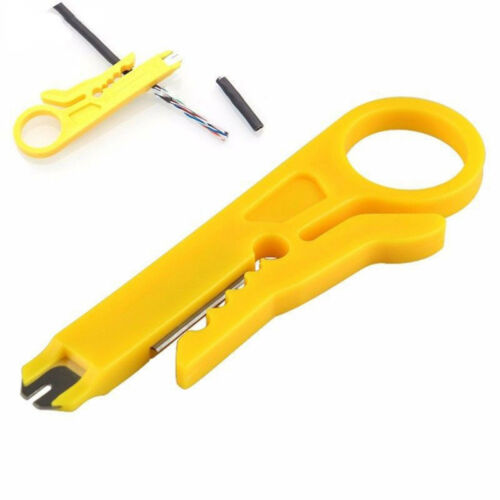 Network Lan Wire Cable Punch Down Stripper UTP for·RJ45 Cat5//5e//6 SALE