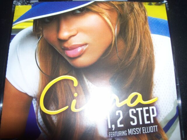 Ciara 1 2 Step Australian Mixes CD Single Like New