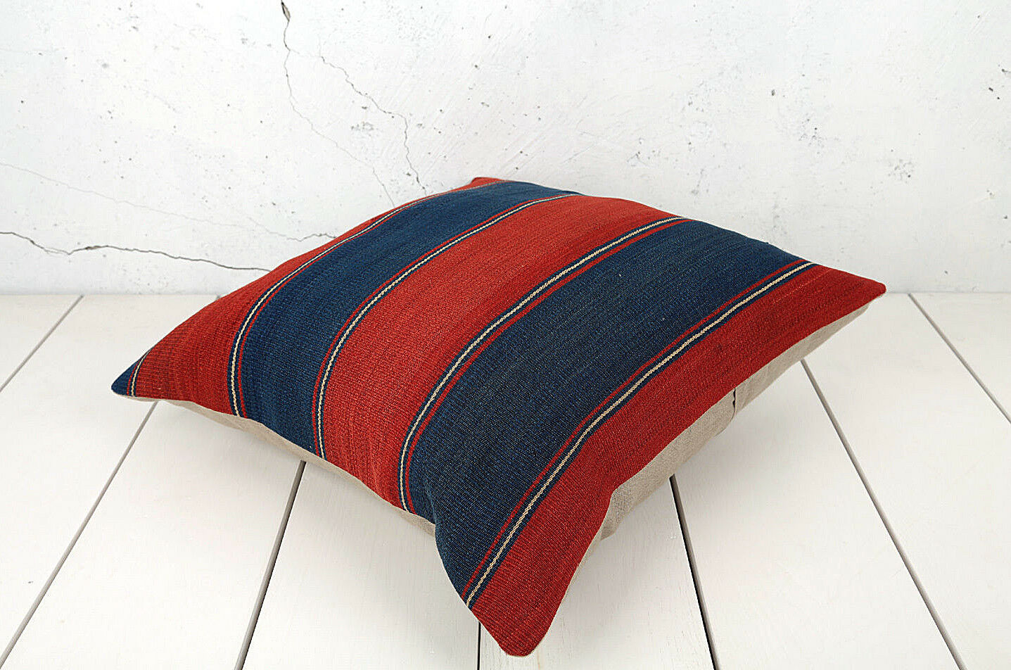 23.23  x 23.62  Pillow Cover Kilim Pillow Cover OLD FAST Shipment With UPS 04445