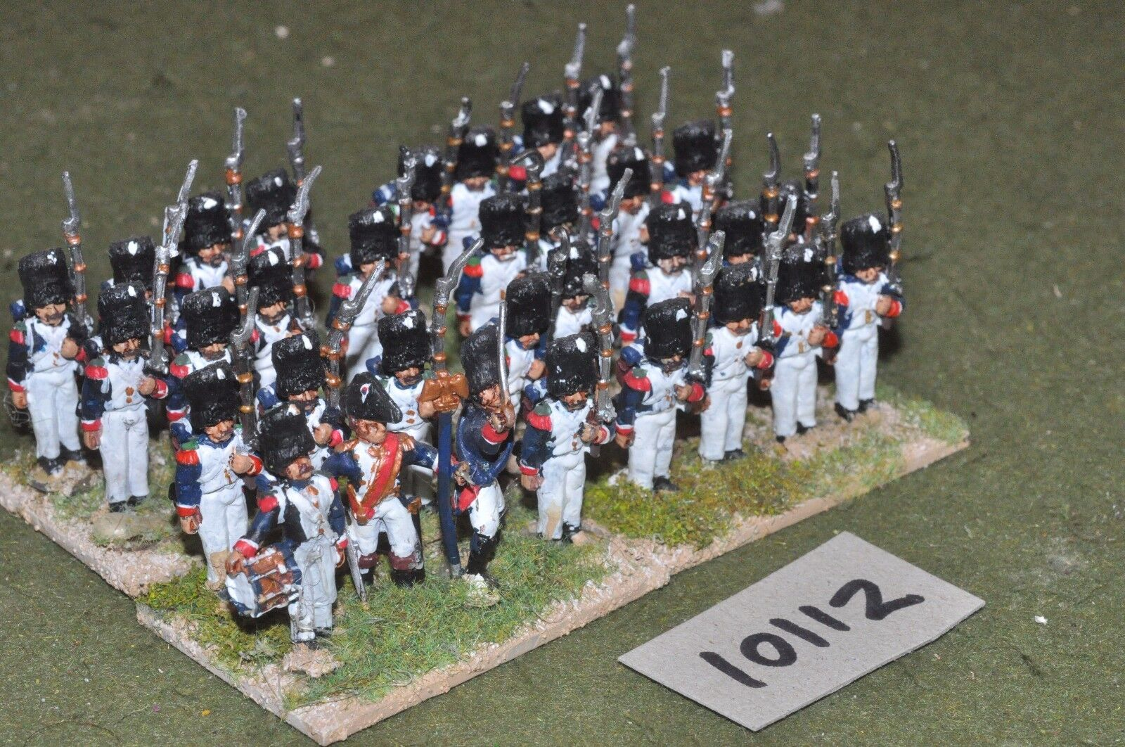25mm napoleonic   french - 32 infantry figs - inf (10112)