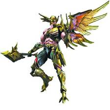 Dc Comics Variant Play Arts Kai Hawkman Action Figure Square Enix