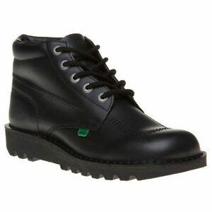 Svart 6 11 Smart Leather Kickers Støvler Størrelser Kick Hi Menns Uk Work Sko til 5 1wT1qPtngx