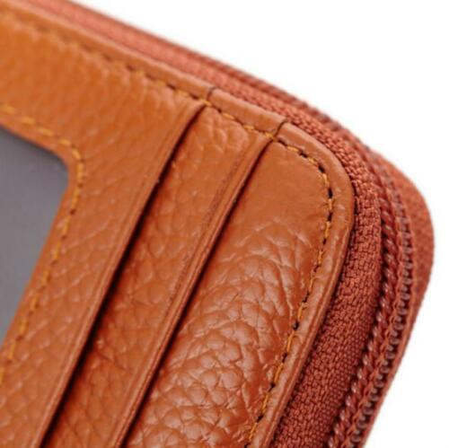 Fashion Mens Womens Leather Wallet ID Credit Card Holder Case Organizer Purse S