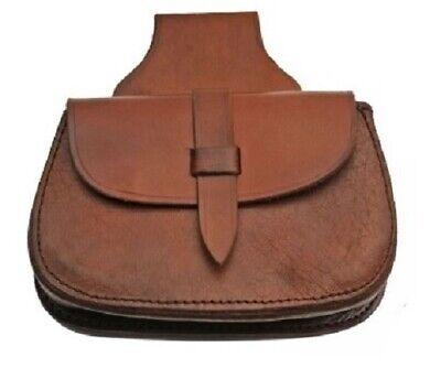 Medieval Godfrey Leather Belt Steampunk Larp Renaissance sca