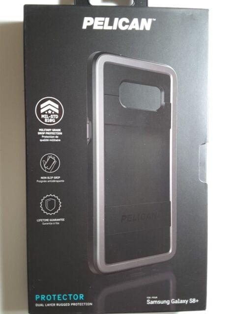 online retailer c0e17 bb2de Pelican Protector for Samsung Galaxy S8 Plus Black