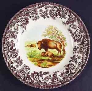 Spode-WOODLAND-Bison-Salad-Plate-4579840
