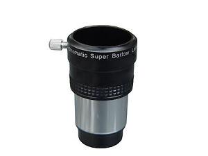 Seben lentille de barlow 2x achromatique ba2 pour télescope oculaire