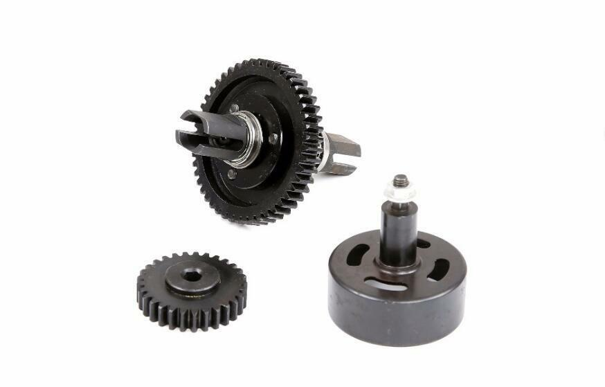 Super speed 29T 48T gear kit with cluch bell for losi 5ive-t 5t rovan LT
