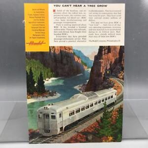 Vintage-Revista-Anuncio-Estampado-Diseno-Publicidad-Budd-Railroad-via-Diesel-Car